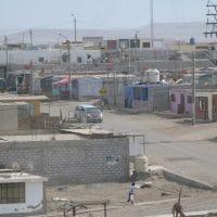 Coast Town In Peru