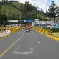 Ecuador Border With Colombia